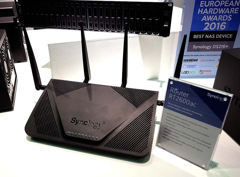 The Synology RT2600ac is the company's newest flagship router.