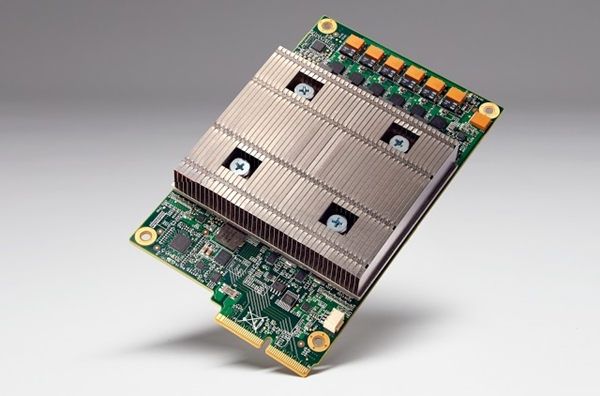 Tensor Processing Unit board (Image source: Google Cloud Platform)