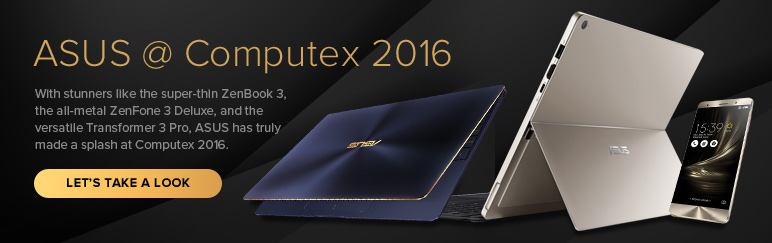 What's new from ASUS at Computex 2016