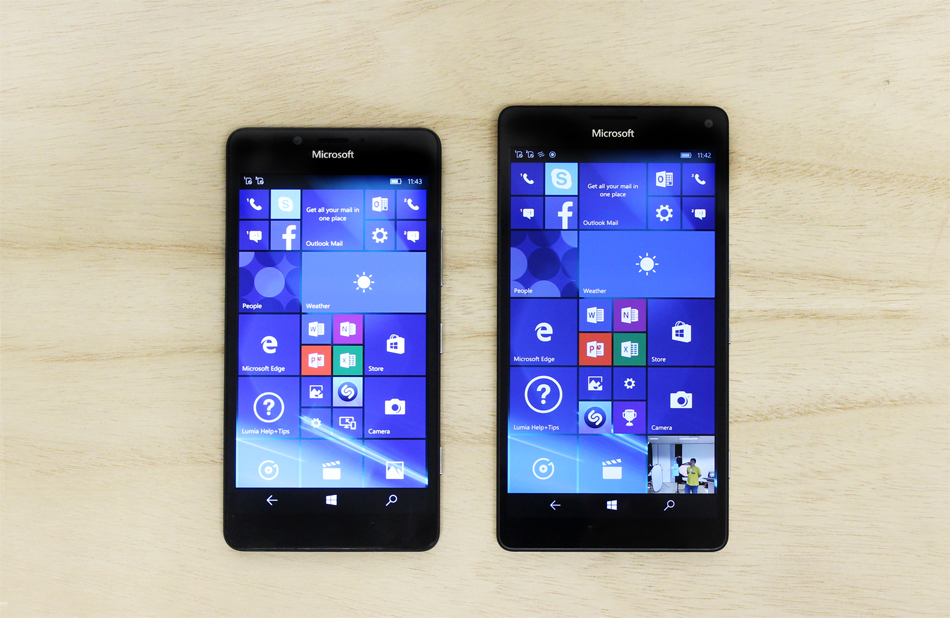 If you've gotten a Lumia 950 or 950 XL, you're already on Windows 10.