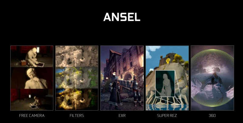 ANSEL made its debut with the launch of the GTX 1060.