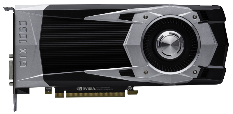 The cooler shroud of the GTX 1060 sports the same polygonal theme, albeit with a slightly different design.