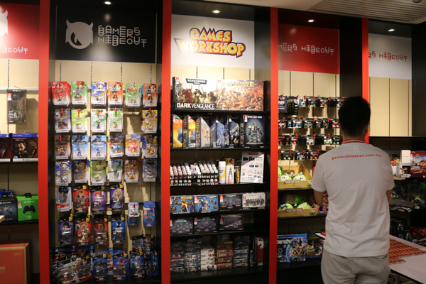 Gamers Hideout Sunway Pyramid is now officially open