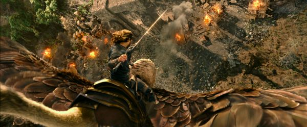The look and feel of the world is definitely entertaining to see, because of how similar they are to the source material. <br> Image source: warcraftmovie.com