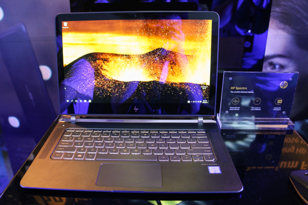 The super-thin 13.3-inch HP Spectre 13.