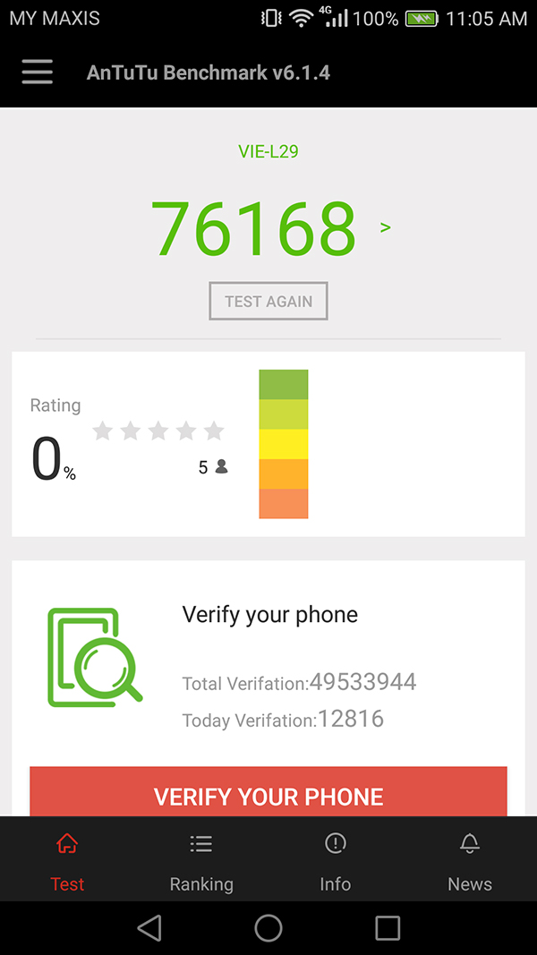 Benchmarks & Battery Life : Huawei P9 Plus: The plus factor