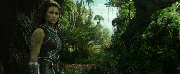 There are some pacing issues with the movie, no thanks to some questionable transitions that make it feel like some bits of the plot were left out. <br> Image source: warcraftmovie.com