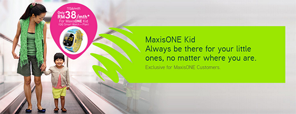 Maxis introduces the RM38/month MaxisONE Kid postpaid plan