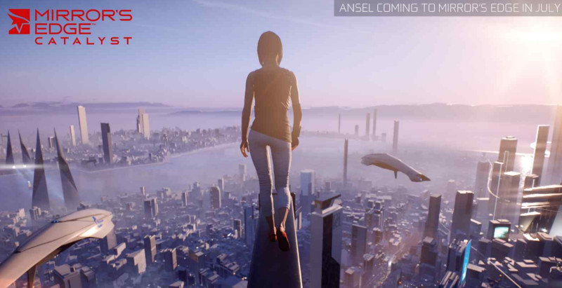ANSEL is currently only available on two titles: Mirror's Edge Catalyst, and the Witcher 3 (below).
