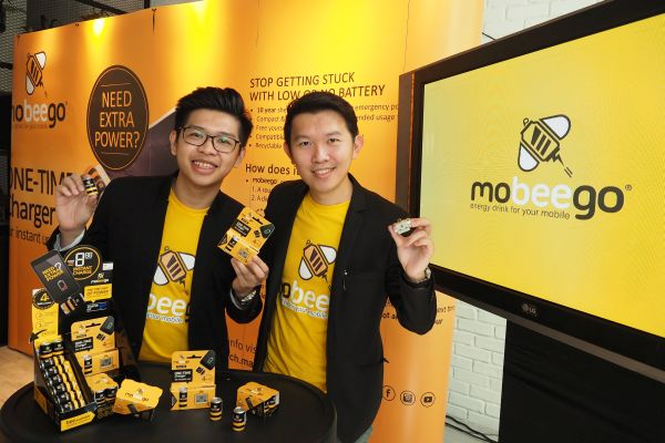 (From L-R): Edric Foong, Business Development Director of MoBeeGo and Kelvin Hun, Managing Director of MoBeeGo.