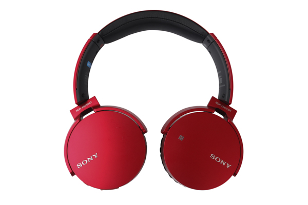 The ear cups of the Sony MDR-XB650BT can be folded flat for easy portability.