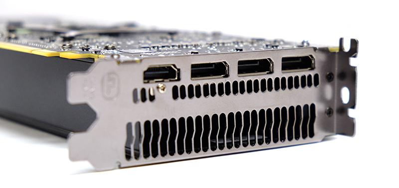 AMD Radeon RX 480 display connectors