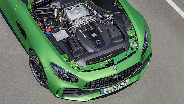 Mercedes Debuts Bonkers Mad Hp AMG GT R At The Goodwood Festival - Goodwood hardware car show