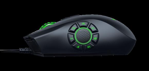 Razer's new Naga Hex V2 has RGB lighting and seven side