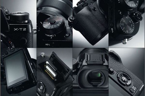 The X-T2 retains the old design, but adds some nice touches.