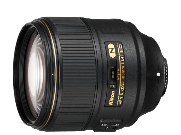 The AF-S NIKKOR 105mm f/1.4E ED. <br>Image source: Nikon.