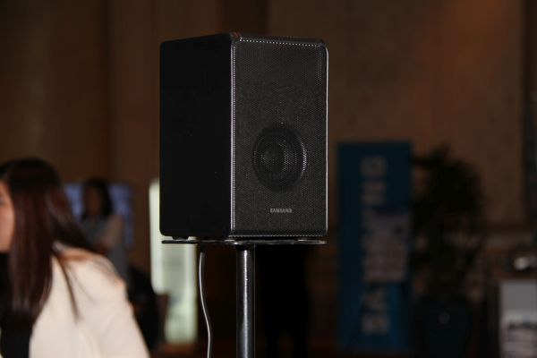 The HW-K950 Soundbar comes with two of these, which is unusual for a soundbar.