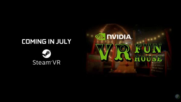 NVIDIA's VR Fun House is coming to Steam.