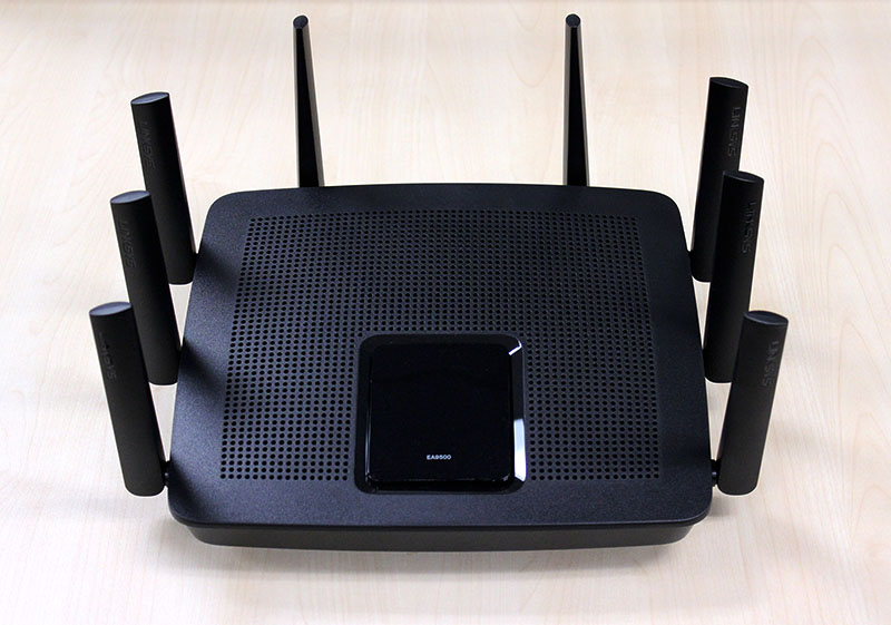 The Linksys EA9500 is an easy recommendation because it offers great performance and lots of features.