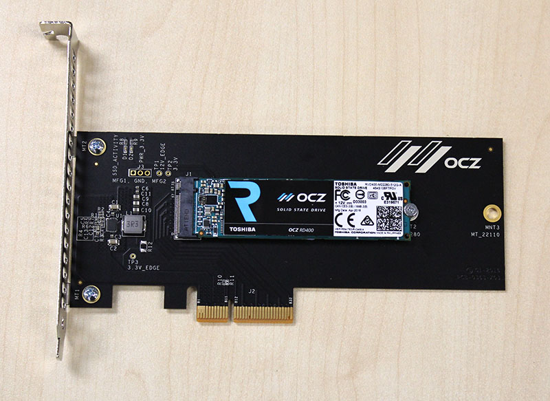 OCZ's first PCIe 3.0 x4 SSD is here and it promises to be nothing less than fast.