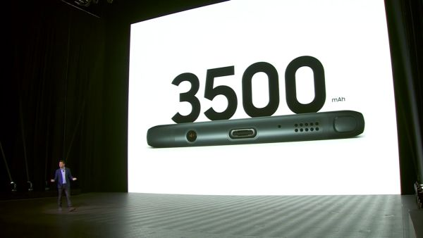 At 3,500mAh, it's biggest battery ever fitted in a Galaxy Note smartphone to date.