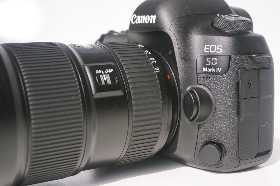 A full set of ports for video accessories can be found down the left side of the camera.