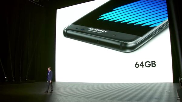 Not 16GB. Not 32GB, but a massive 64GB of internal storage!