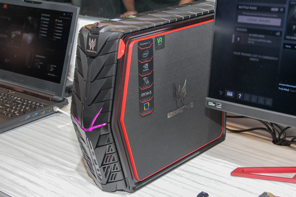 What you're looking at is the Acer Predator G1 gaming desktop.