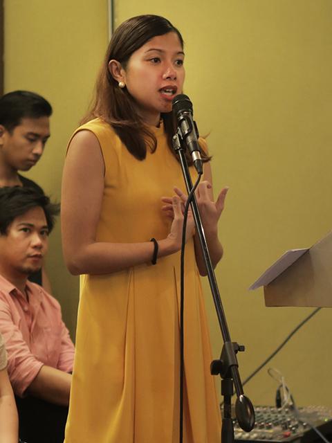 Corinne Bacani, Senior Marketing Manager for CBG of Huawei Philippines.