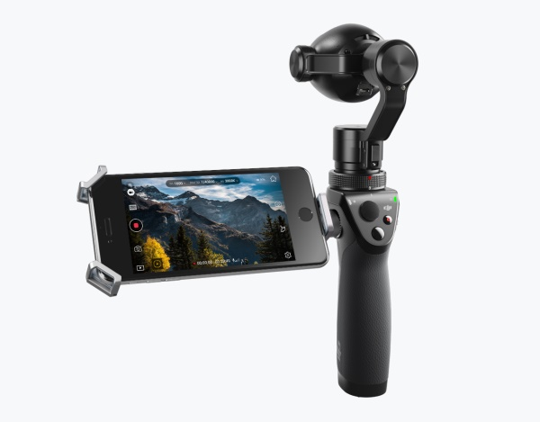 The new improved Osmo+ lets users record video in smooth and sharp 4K, while also letting you zoom in as you are recording videos. <br> Image source: DJI.