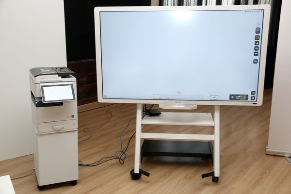 RICOH IWB D5510 Interactive Whiteboard.