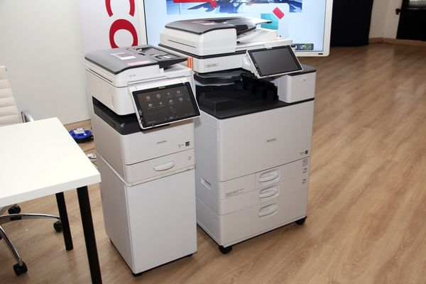 RICOH MP 305 and MP C2004 Multi Function Printers.
