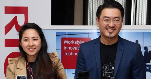(From L-R): Winnie Lim, Senior Marketing Manager at RICOH Malaysia; and  Nick Tan, General Manager of Marketing at RICOH Malaysia.