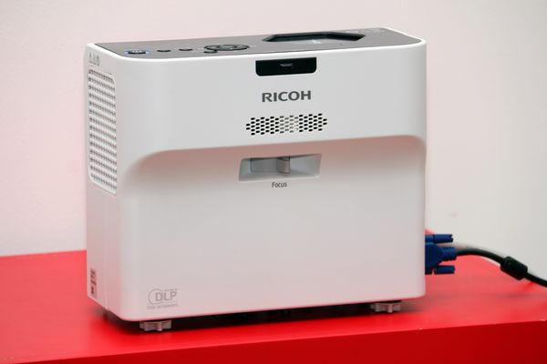RICOH PJWX 4152N Ultra Throw Projector.