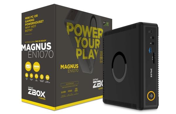 The Zotac ZBOX MAGNUS EN1070. <br> Image source: Zotac.