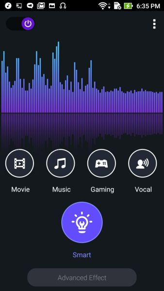 ASUS' Audio Wizard app can be used to enhance the audio quality, but even without this app, audio quality is already good. It supports up to 24-bit, 192kHz files.