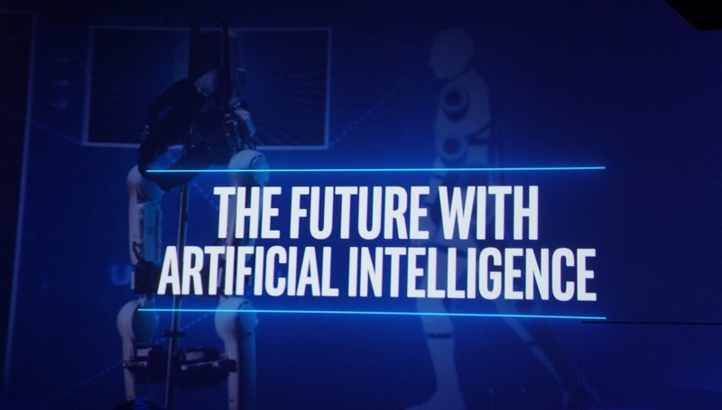 With all the infrastructure in place, what's next that we can expect to disrupt how services are offered? Artificial Intelligence.
