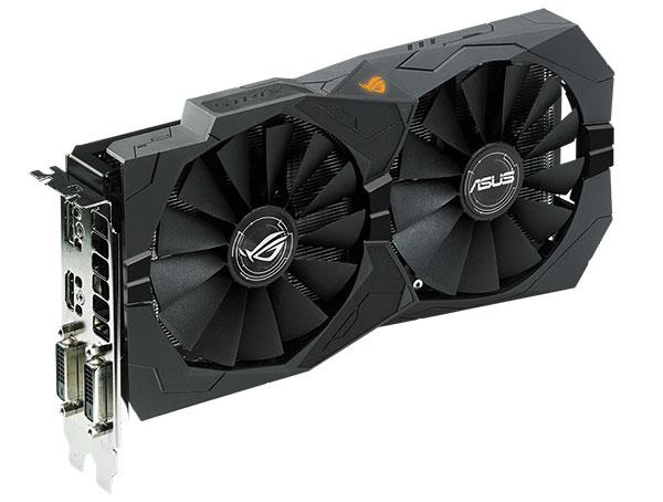 ASUS ROG Strix Radeon RX 470. (Image Source: ASUS)