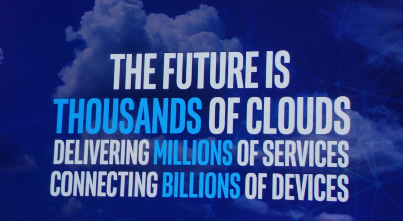 The data center in the clouds is still the backend where everything takes place.