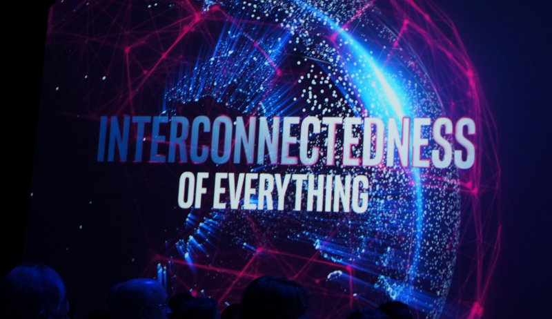 The 'connection effect' – the exponential impact of connecting billions of people with tens of billions of things that will generate new levels of data; so much data that putting it to use effectively requires re-architecturing the technology infrastructure.
