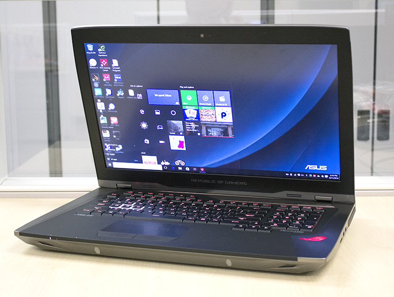 The ROG GX800 is one extreme notebook and we can't wait to benchmark it once the final production version is ready.