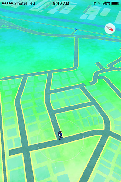 The only Pokéstop is a long way from home. It doesn't help that I have an aversion to physical labor.