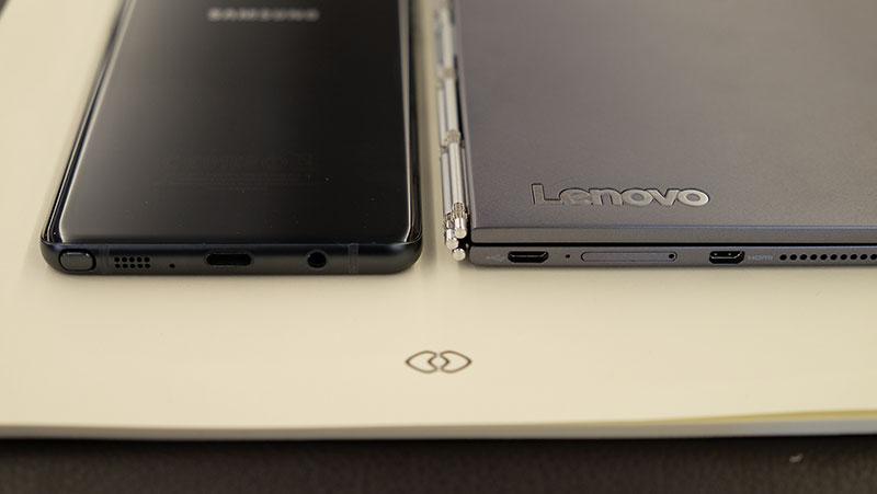 Lenovo Yoga Book thickness
