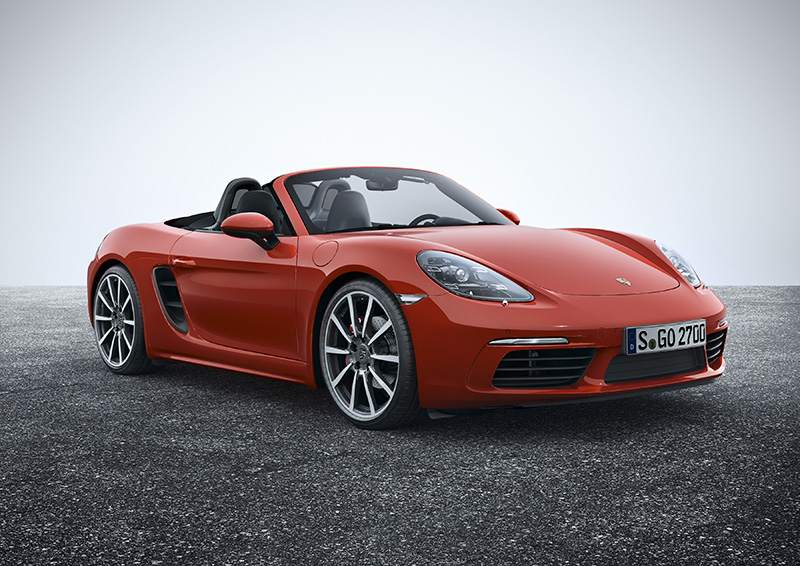 The new 718 Boxster S is a real looker. It has grown up and looks undoubtedly more masculine now.