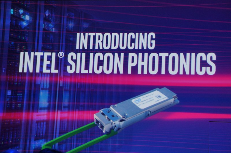 And after 16 years of research, Intel is introducing Silicon Photonics as a new class of high-speed optical connectivity products that removes existing network bottlenecks to unleash compute capacity and driving towards a future of an unconstrained data center connectivity.