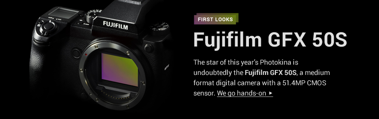 Hands-on: Fujifilm GFX 50S medium format camera