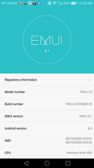 honor's EMUI 4.1 is borrowed technology from Huawei. Frankly, the GUI could still a bit of work.