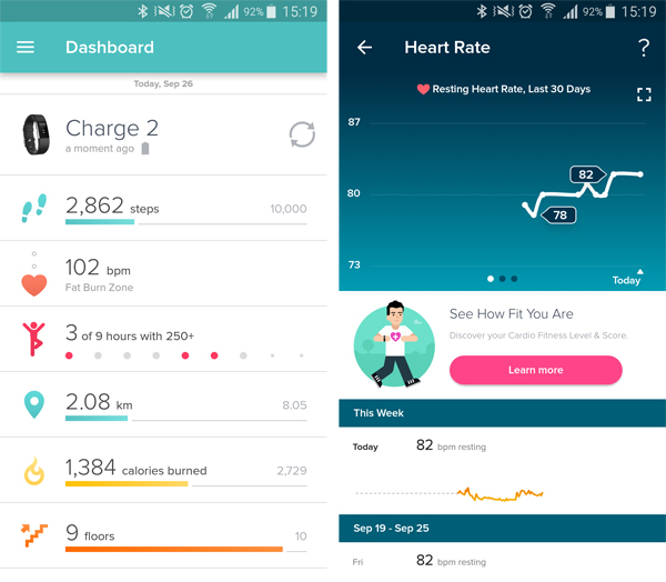 Fitbit Charge 2 - HardwareZone com my