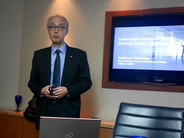 Yoshikuni Takashige, Vice President, Head of Marketing Strategy, Fujitsu Limited