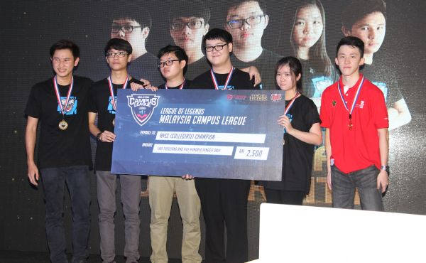 Asia Pacific University S League Of Legends Team Wins Rm30 000 In Scholarships Hardwarezone Com My